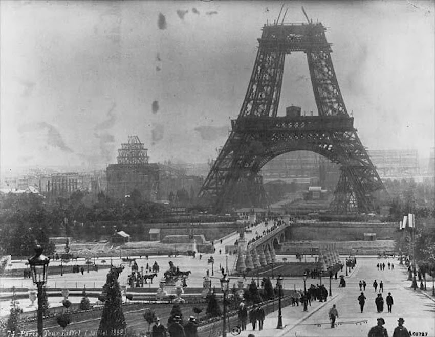 EIFFEL TOWER IN 1887