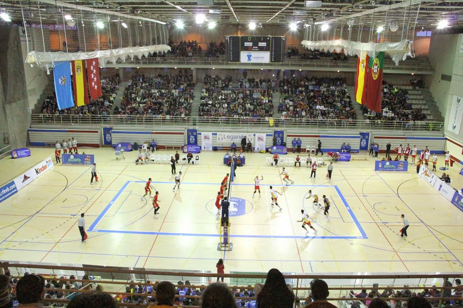 M s de personas disfrutaron de la selecci n espa ola - Pabellon de deportes de madrid ...