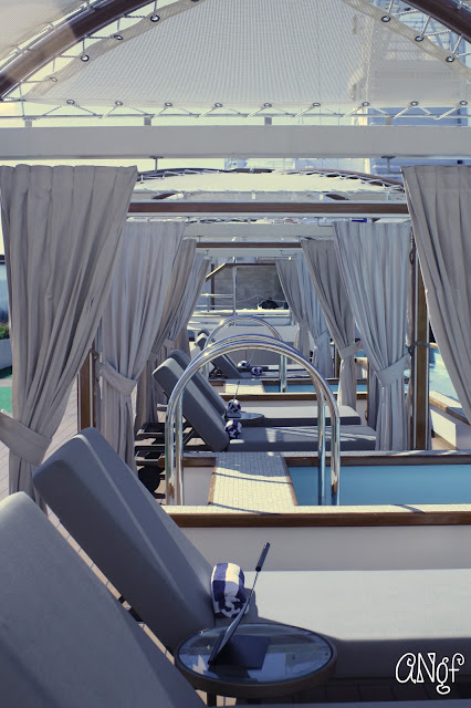 Adult-only cabanas aboard the Royal Princess | Anyonita-nibbles.co.uk