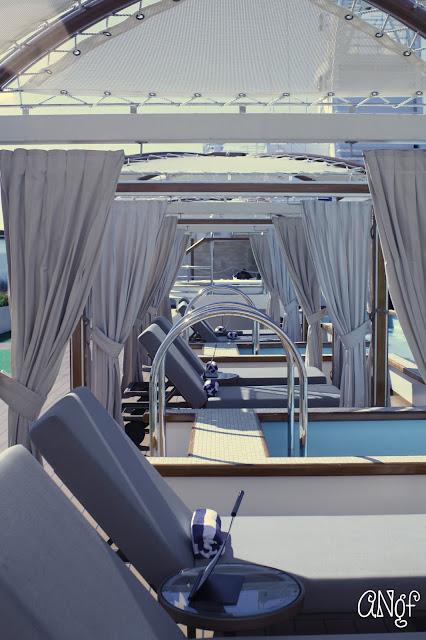 Adult-only cabanas aboard the Royal Princess | Anyonita-nibbles.co.uk