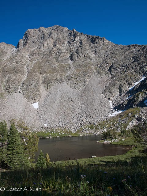 Gallatin Peak, Thompson Lake, Spanish Peaks, Montana