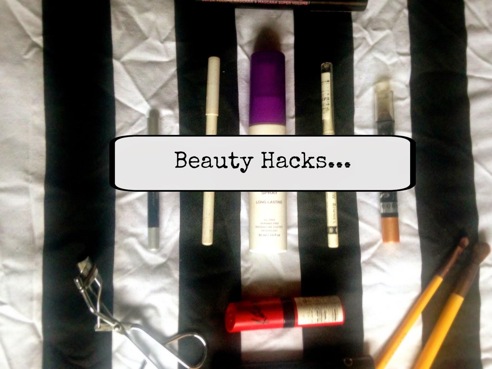 Beauty Hacks Title Picture
