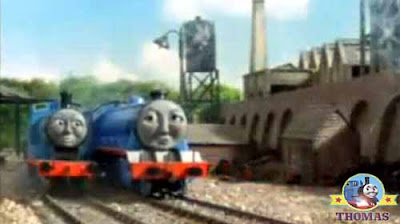 The next morning Thomas and friends Gordon the tank engine thank you Edward the really useful engine