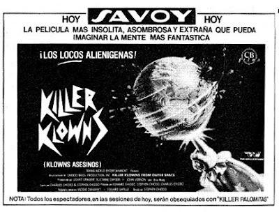 Killer Klowns (Klowns asesinos), Chiodo, Payasasos asesinos del espacio exterior