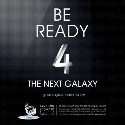 Launched on 14 March, Samsung S4 octa-processor announcing explosive !