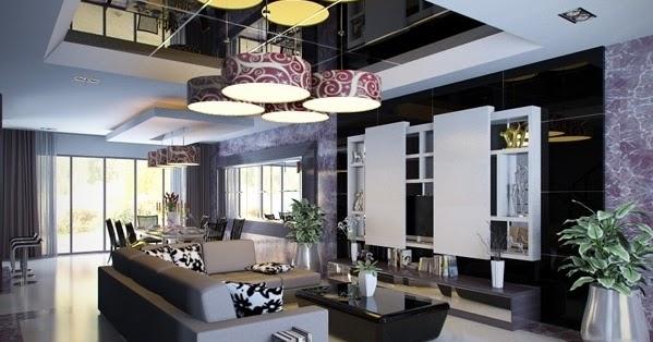 Dise os de salas modernas elegantes ideas para decorar - Disenar tu casa online ...