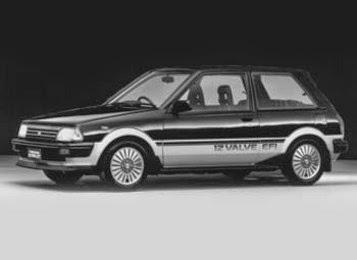 foto toyota starlet baru 1987