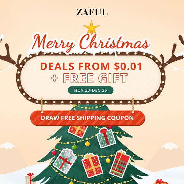 MERRY CHRISTMAS CON ZAFUL