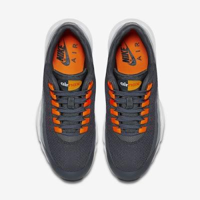 Vista superior de las zapatillas