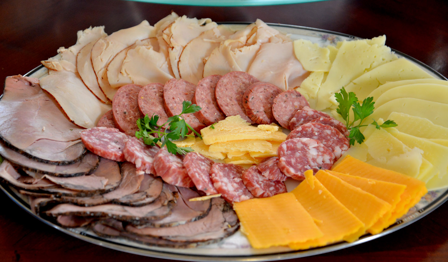 meat and cheese tray costco