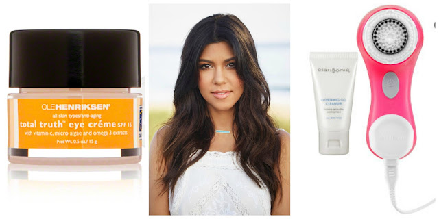 Kourtney Kardashian skincare and beauty
