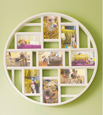 Just J: ModCloth round collage photo frame