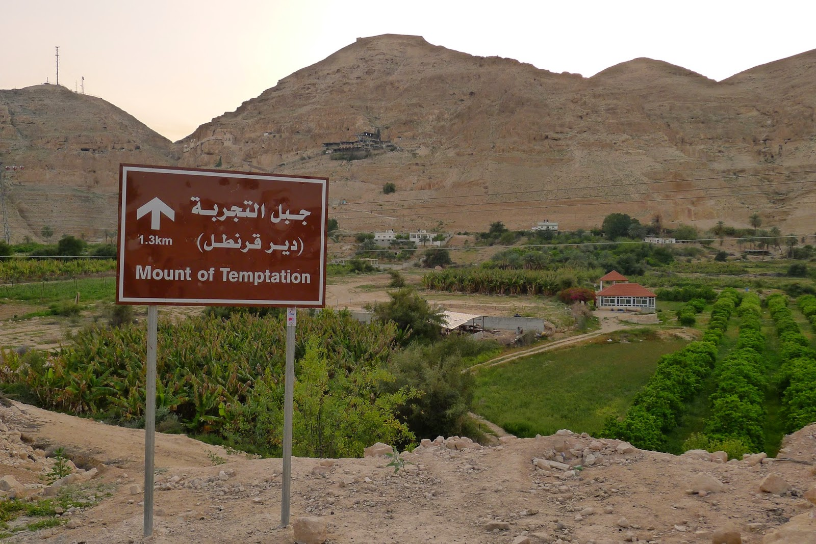 Mount of Temptation, Jerico, Palestine