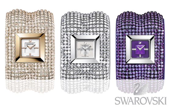 Montres Swarovski collection Elis Bangle