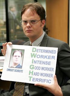Dwight Shrute - D style