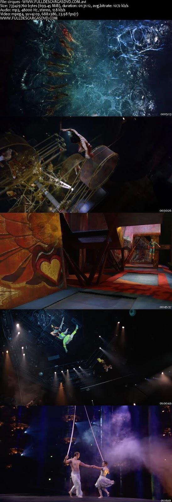 Cirque du Soleil Worlds Away DVDRip Español Latino 2012