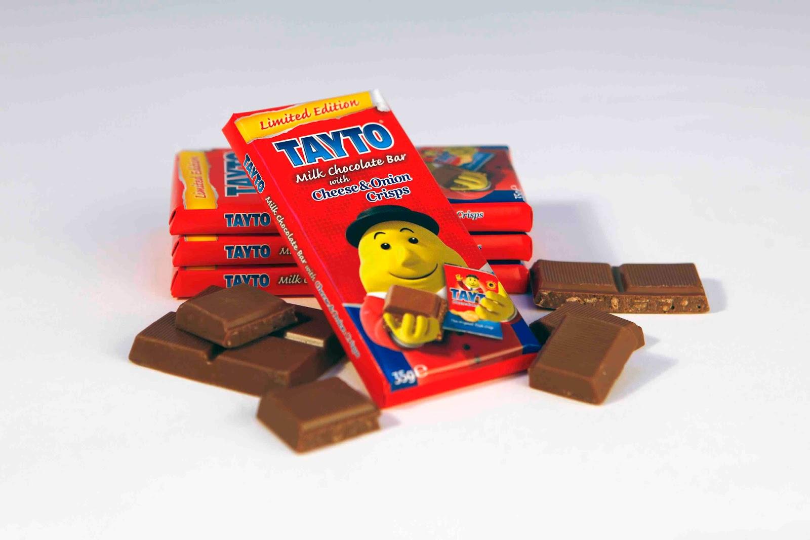 Tayto Limited Edition Chocolate Bar