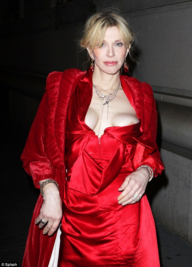 Boob courtney love