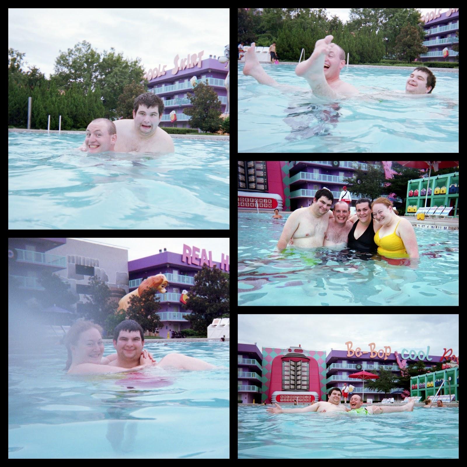 My disney life wedding trip recap september 15 2012 for Life of pi swimming pool
