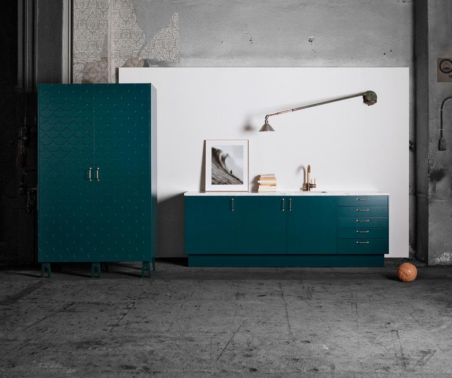 ikea faktum v ggsk p montering. Black Bedroom Furniture Sets. Home Design Ideas