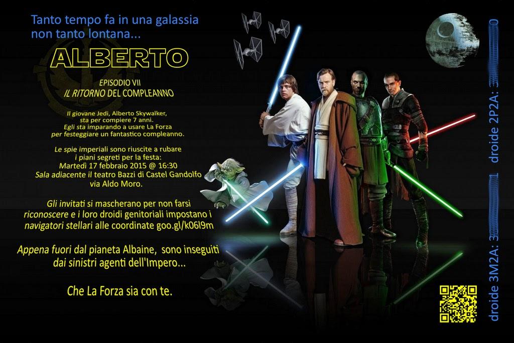 Estremamente Babbo Pasticcione: Festa in tema Star Wars AN23