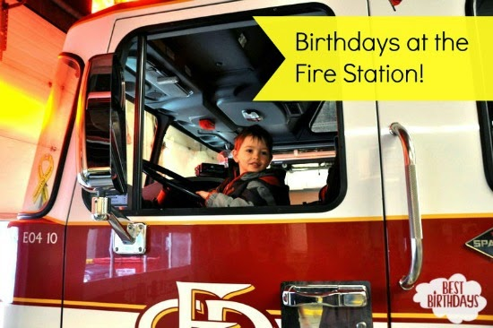 Real Party: Birthday at the Fire Station  |  Best Birthdays