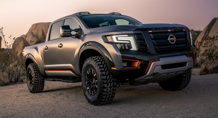 MachoLooking Titan Warrior Concept Is Nissans Answer To The Ford