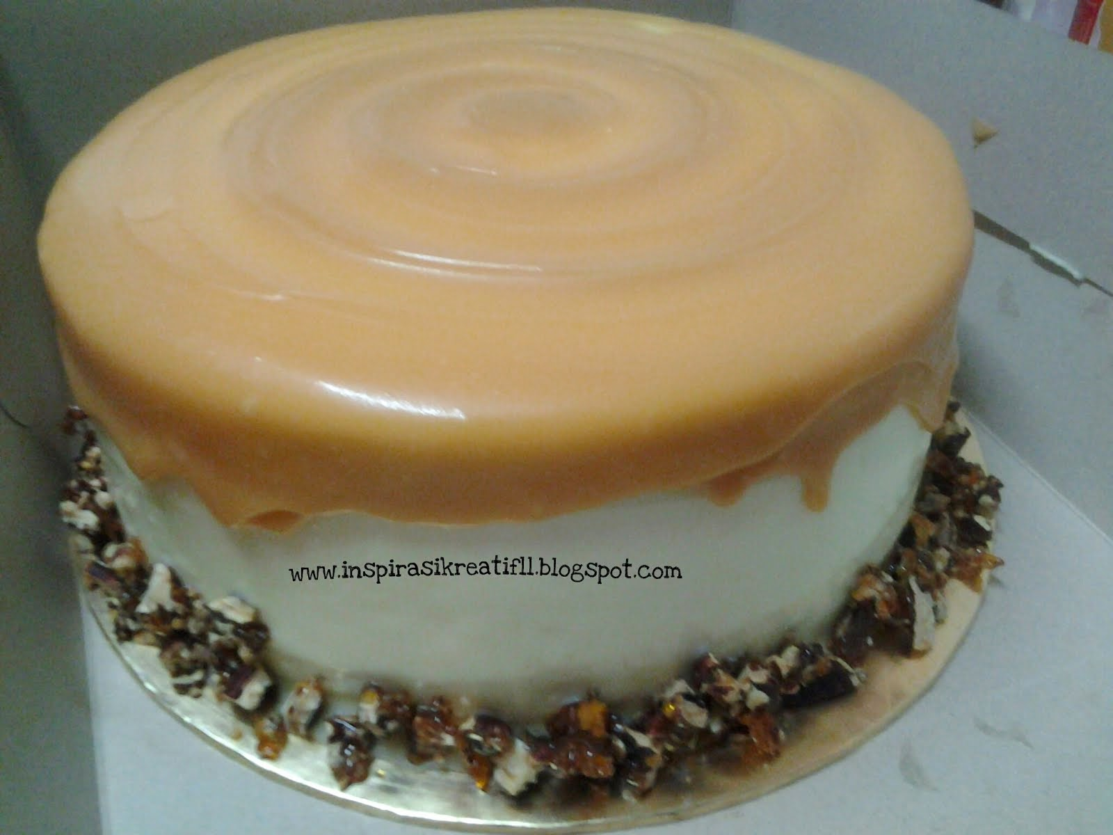 Pecan Heaven Butterscotch Cake