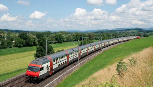 Viagens de trem na Europa