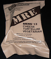 MRE Review: Menu 13, Tortellini Vegetarian Overwrap
