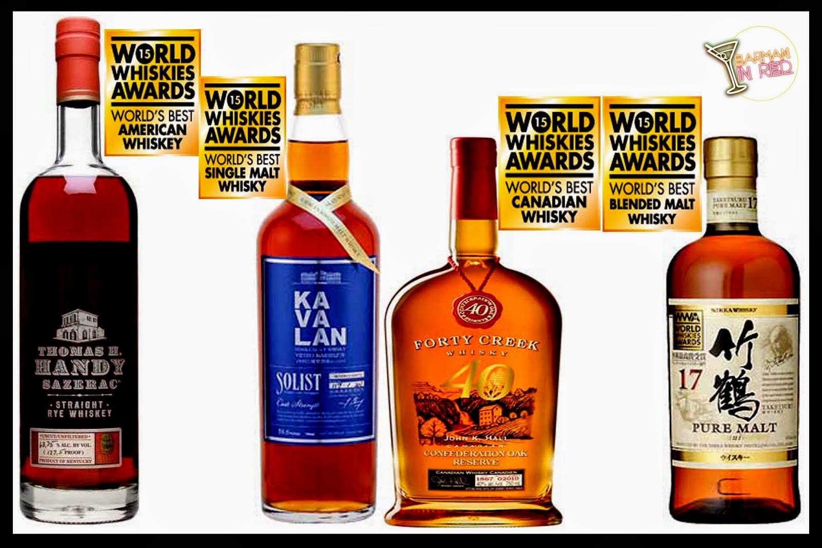 mejores whiskies del mundo 2015