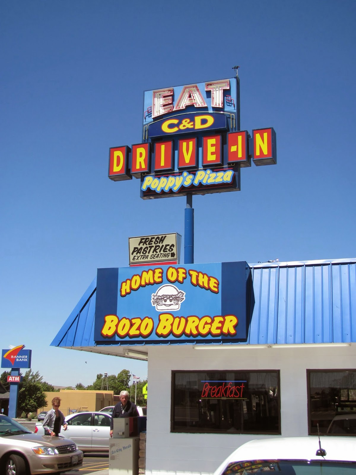 Home of the Bonzo Burger in Oregon