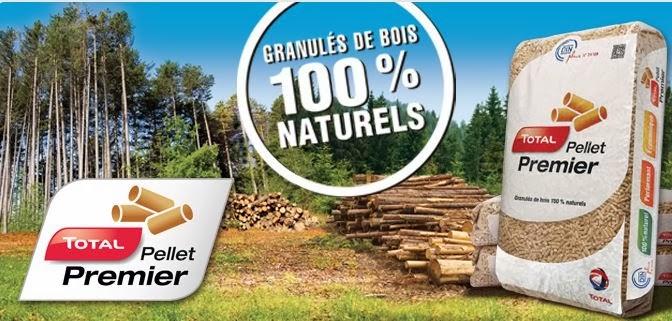 Le blog de Bois de Chauffage Net Arrivée de Total dans les granulés avec Total Pellet Premier # Granulés Bois Total