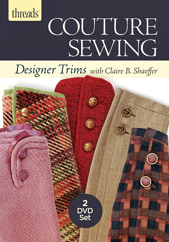 A New Sewing DVD from Claire B. Shaeffer!