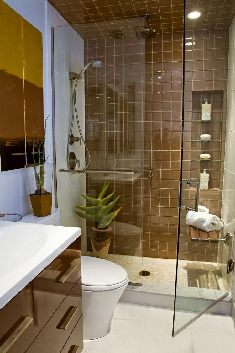 Baño Moderno Pequeno:Baños modernos pequeños – Colores en Casa