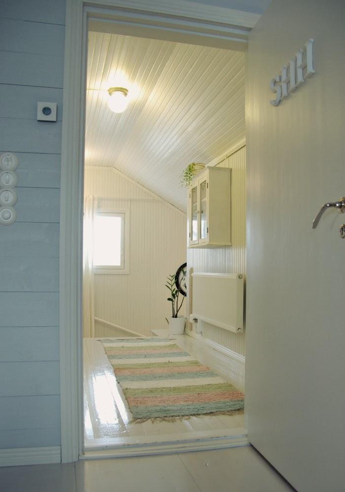 Tarja's Snowland Remontoidun rintamamiestalon makuuhuone  Renovated Hou