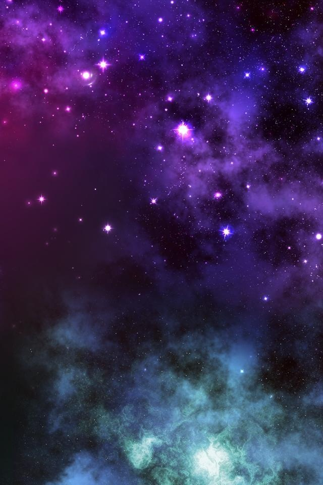 640x960 Space Wallpaper