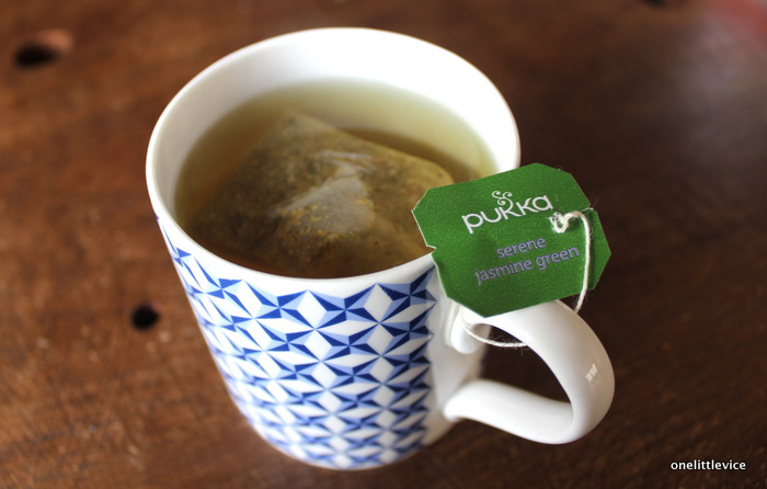 one little vice lifestyle blog: natural green and jasmine tea review