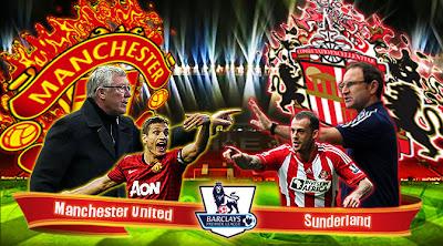 Hasil Pertandingan Manchester utd Vs Sunderland 15 Desember 2012