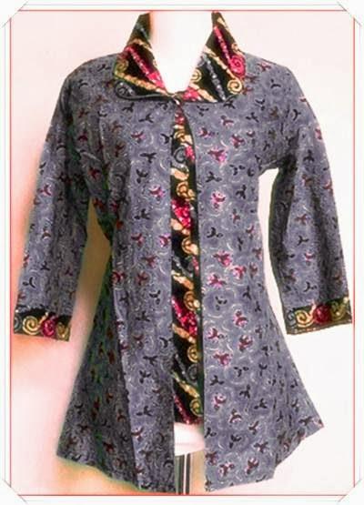 Update model baju batik wanita terbaru aneka warna