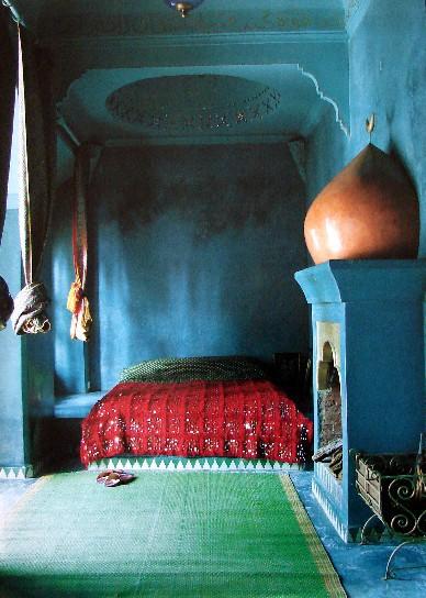 Moroccan Bedroom Interiors