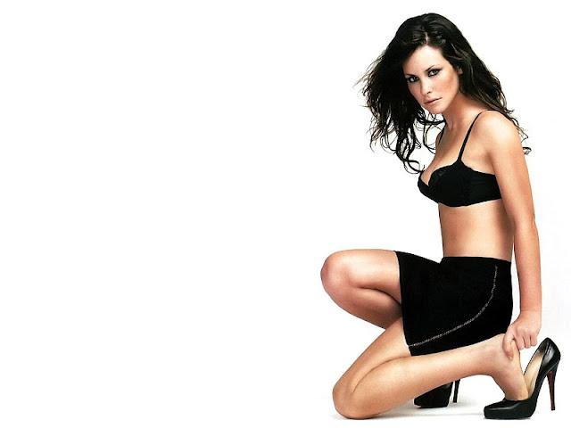 Evangeline Lilly in Lingerie