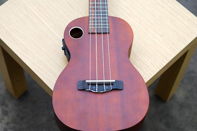 Riptide EUC-5NS concert ukulele body