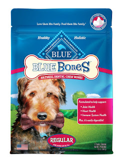 Blue Bones Natural Dental Chew for Dogs with Glucosamine & Chondroitin deeAuvil Blog