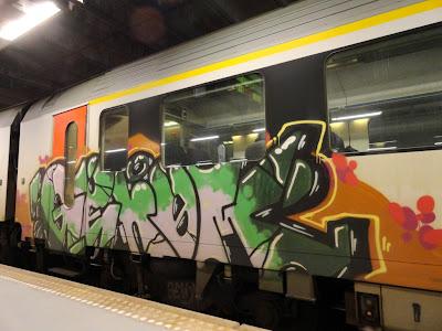 genom graffiti