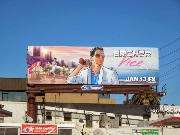 Archer Vice 5 billboard