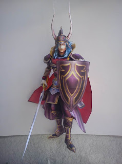 final fantasy papercraft