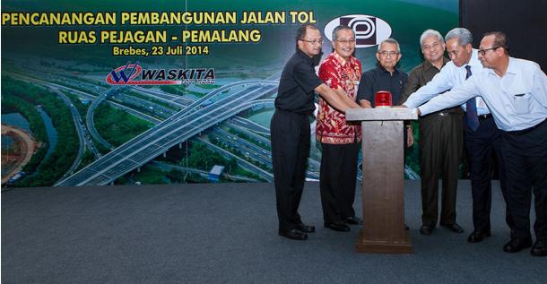 Tol 'Darurat' Pejagan-Brebes Akan Dibuka 10 Juli 2015