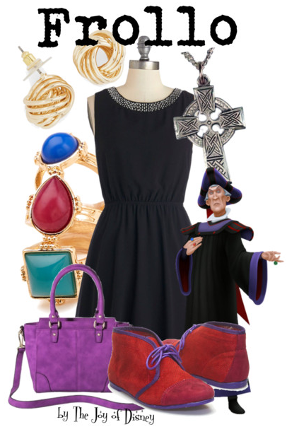Frollo Hunchback of Notre Dame, Disney Villain Fashion