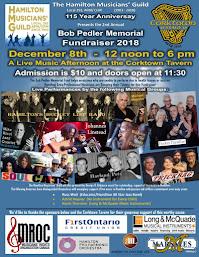 Dec 8: Bob Pedler Fund Fundraiser @ Corktown (Hamilton)